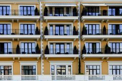 The balconies Royalty Free Stock Photo