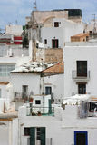 Balconies Ibiza Royalty Free Stock Photos