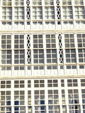 Balconies in La Coruna Stock Photography