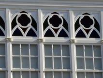 Balconies in La Coruna Stock Photo