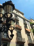 Balconies, La Rambla, Barcelona Stock Photography