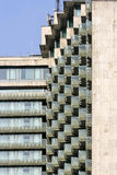 Balconies in a modern apartment bildings Stock Photography