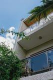 Balconies of a modern home Stock Photos