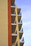 Balconies of new build Royalty Free Stock Photography