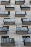 Balconies outside building Stock Photos