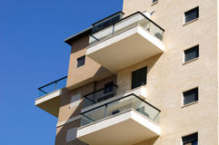 Balconies. Royalty Free Stock Images