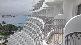 Balconies Stock Image