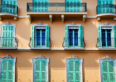 Balconies, Windows and Doors Royalty Free Stock Photos