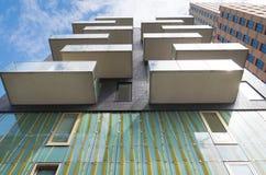 Balcons d'appartement Images libres de droits