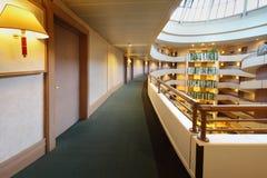 Balcons dans l'hôtel du congrès d'iris Photographie stock libre de droits