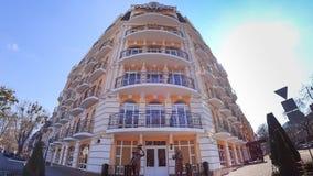 Balcons de l'hôtel images stock