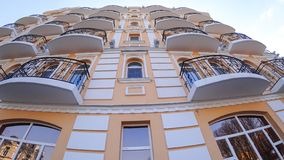 Balcons de l'hôtel photo libre de droits