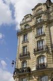 Balcons parisiens Image libre de droits