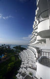 Balcons, ressource tropicale photos stock