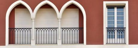 Balcony_01 Fotografía de archivo libre de regalías