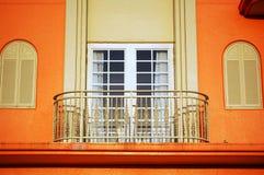 Balcony 1. View of a modern apartment's balcony Royalty Free Stock Photo