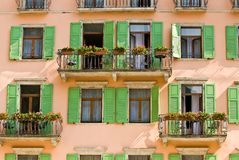 The balcony royalty free stock images