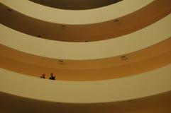Balcony. Inside the Guggenheim New York City Royalty Free Stock Photos