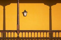 Balcony. Canary Islands Royalty Free Stock Image