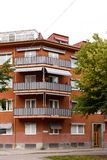 Balcony on appartment Royalty Free Stock Photography