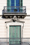 Balcony of beautiful building Royalty Free Stock Image