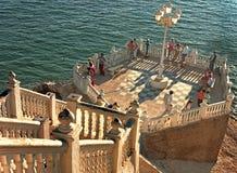 The Balcony at benidorm Stock Images