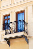 Balcony in bitola,macedonia. Pic of balcony in macedonia Stock Photography