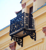 Balcony in bitola,macedonia Royalty Free Stock Photography