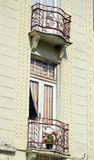 Balcony in bitola, macedonia Stock Image