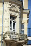 Balcony in Bitola Macedonia Royalty Free Stock Images