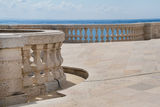 Balcony with blue sky Royalty Free Stock Images