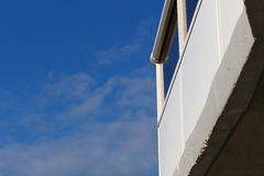 Balcony and Blue Sky Royalty Free Stock Photography