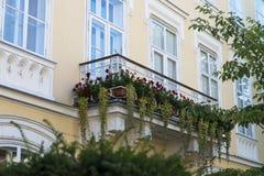 Balcony in bratislava. Beautiful balcony in bratislava, Slovakia Stock Image