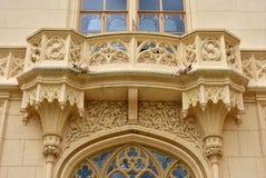 Balcony of castle Stock Photo