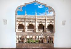 Balcony of Claustro de Saint Juan de los Reyes. The old balcony of Claustro de Saint Juan de los Reyes, Toledo, Spain Stock Image
