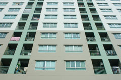 Balcony condominium in bangkok Stock Images