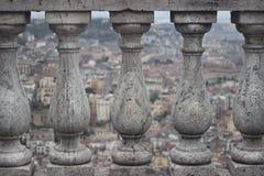 Balcony. Detail of a balcony in S. Martino, Naples - ITALY Stock Photography