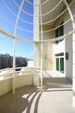 Balcony in dubai skyscraper Stock Images