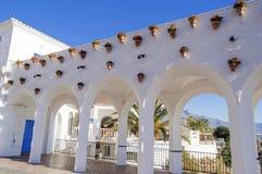 Balcony of Europe. Nerja europe balcony overlooking the Mediterranean Sea Royalty Free Stock Images
