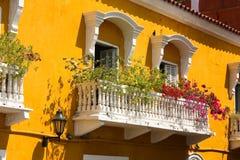 Balcony with flowers