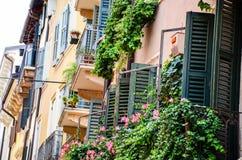 Balcony in Verona Royalty Free Stock Photo