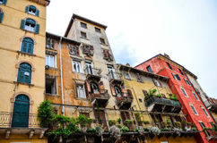 Balcony in Verona Royalty Free Stock Image