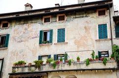 Balcony in Verona Stock Photos