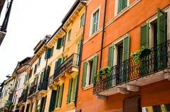 Balcony in Verona Royalty Free Stock Photos