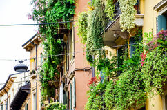 Balcony in Verona Stock Images