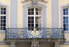 Balcony at Freiburg im Breisgau Stock Photo