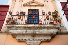 Balcony in Guanajuato Royalty Free Stock Photo