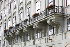 Balcony at the Hofburg Royalty Free Stock Image