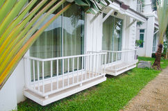 Balcony. Of home and garden Stock Image