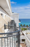Balcony of the Hotel Royalty Free Stock Photography